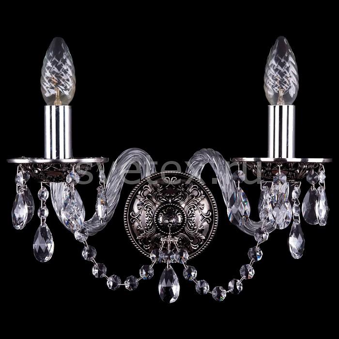 Фото Бра Bohemia Ivele Crystal 1610 1610/2/NB