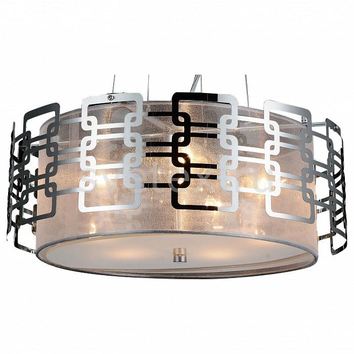 Подвесной светильник ST-LuceСветодиодные<br>Артикул - SL940.103.05,Бренд - ST-Luce (Китай),Коллекция - SL940,Гарантия, месяцы - 24,Время изготовления, дней - 1,Высота, мм - 250-1320,Диаметр, мм - 440,Размер упаковки, мм - 490х490х210,Тип лампы - компактная люминесцентная [КЛЛ] ИЛИнакаливания ИЛИсветодиодная [LED],Общее кол-во ламп - 5,Напряжение питания лампы, В - 220,Максимальная мощность лампы, Вт - 40,Лампы в комплекте - отсутствуют,Цвет плафонов и подвесок - серебро,Тип поверхности плафонов - матовый,Материал плафонов и подвесок - текстиль,Цвет арматуры - хром,Тип поверхности арматуры - глянцевый,Материал арматуры - металл,Количество плафонов - 1,Возможность подлючения диммера - можно, если установить лампу накаливания,Тип цоколя лампы - E14,Класс электробезопасности - I,Общая мощность, Вт - 200,Степень пылевлагозащиты, IP - 20,Диапазон рабочих температур - комнатная температура,Дополнительные параметры - регулируется по высоте,  способ крепления светильника к потолку – на монтажной пластине<br>