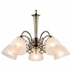 Подвесная люстра Globo5 или 6 ламп<br>Артикул - GB_69013-5H,Бренд - Globo (Австрия),Коллекция - Tialda,Гарантия, месяцы - 24,Высота, мм - 890,Диаметр, мм - 600,Размер упаковки, мм - 450х430х200,Тип лампы - компактная люминесцентная [КЛЛ] ИЛИнакаливания ИЛИсветодиодная [LED],Общее кол-во ламп - 5,Напряжение питания лампы, В - 220,Максимальная мощность лампы, Вт - 60,Лампы в комплекте - отсутствуют,Цвет плафонов и подвесок - белый с рисунком и каймой,Тип поверхности плафонов - матовый,Материал плафонов и подвесок - стекло,Цвет арматуры - бронза,Тип поверхности арматуры - матовый,Материал арматуры - металл,Возможность подлючения диммера - можно, если установить лампу накаливания,Тип цоколя лампы - E14,Класс электробезопасности - I,Общая мощность, Вт - 300,Степень пылевлагозащиты, IP - 20,Диапазон рабочих температур - комнатная температура,Дополнительные параметры - регулируется по высоте, способ крепления светильника к потолку – на крюке<br>