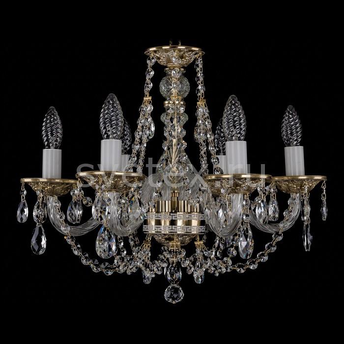 Фото Подвесная люстра Bohemia Ivele Crystal 1606 1606/6/160/GW