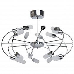 Люстра на штанге MW-LightПолимерные плафоны<br>Артикул - MW_329010718,Бренд - MW-Light (Германия),Коллекция - Вега 3,Гарантия, месяцы - 24,Высота, мм - 520,Диаметр, мм - 700,Тип лампы - светодиодная [LED],Общее кол-во ламп - 18,Напряжение питания лампы, В - 220,Максимальная мощность лампы, Вт - 3,Лампы в комплекте - светодиодные [LED],Цвет плафонов и подвесок - белый,Тип поверхности плафонов - матовый,Материал плафонов и подвесок - акрил,Цвет арматуры - хром,Тип поверхности арматуры - глянцевый,Материал арматуры - металл,Класс электробезопасности - I,Общая мощность, Вт - 54,Степень пылевлагозащиты, IP - 20,Диапазон рабочих температур - комнатная температура,Дополнительные параметры - способ крепления светильника на потолке - на монтажной пластине<br>