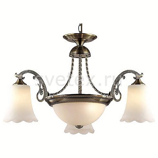 Подвесная люстра LumionЛюстры<br>Артикул - LMN_2985_5A,Бренд - Lumion (Италия),Коллекция - Sonette,Гарантия, месяцы - 24,Высота, мм - 840,Диаметр, мм - 770,Размер упаковки, мм - 175x340x430,Тип лампы - компактная люминесцентная [КЛЛ] ИЛИнакаливания ИЛИсветодиодная [LED],Общее кол-во ламп - 5,Напряжение питания лампы, В - 220,Максимальная мощность лампы, Вт - 60,Лампы в комплекте - отсутствуют,Цвет плафонов и подвесок - белый,Тип поверхности плафонов - матовый,Материал плафонов и подвесок - стекло,Цвет арматуры - бронза состаренная,Тип поверхности арматуры - матовый, металлик, рельефный,Материал арматуры - металл,Количество плафонов - 4,Возможность подлючения диммера - можно, если установить лампу накаливания,Тип цоколя лампы - E27,Класс электробезопасности - I,Общая мощность, Вт - 300,Степень пылевлагозащиты, IP - 20,Диапазон рабочих температур - комнатная температура,Дополнительные параметры - способ крепления к потолку - на монтажной пластине, регулируется по высоте<br>