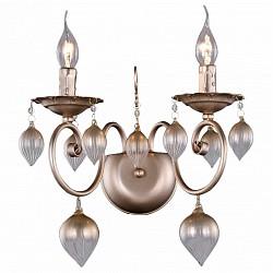 Бра Crystal LuxБолее 1 лампы<br>Артикул - CU_3330_402,Бренд - Crystal Lux (Испания),Коллекция - Veronica,Гарантия, месяцы - 24,Высота, мм - 311,Тип лампы - компактная люминесцентная [КЛЛ] ИЛИнакаливания ИЛИсветодиодная [LED],Общее кол-во ламп - 2,Напряжение питания лампы, В - 220,Максимальная мощность лампы, Вт - 60,Лампы в комплекте - отсутствуют,Цвет плафонов и подвесок - кремовый,Тип поверхности плафонов - матовый, рельефный,Материал плафонов и подвесок - стекло,Цвет арматуры - кремовый,Тип поверхности арматуры - матовый,Материал арматуры - металл,Возможность подлючения диммера - можно, если установить лампу накаливания,Форма и тип колбы - свеча ИЛИ свеча на ветру,Тип цоколя лампы - E14,Класс электробезопасности - I,Общая мощность, Вт - 120,Степень пылевлагозащиты, IP - 20,Диапазон рабочих температур - комнатная температура,Дополнительные параметры - светильник предназначен для использования со скрытой проводкой<br>