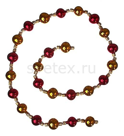 Елочная игрушка АРТИ-МЕлочные игрушки<br>Артикул - art_860-002,Бренд - АРТИ-М (Россия),Коллекция - ART 860,Длина, мм - 900,Цвет - золотой, красный,Материал - стекло<br>
