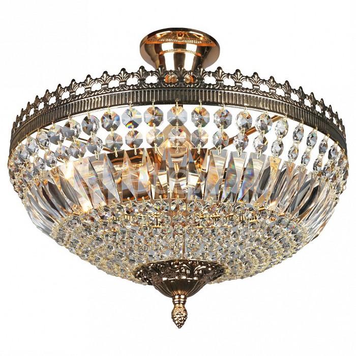 Люстра на штанге OmniluxНе более 4 ламп<br>Артикул - OM_OML-76607-04,Бренд - Omnilux (Италия),Коллекция - OML-766,Гарантия, месяцы - 24,Высота, мм - 350,Диаметр, мм - 370,Тип лампы - компактная люминесцентная [КЛЛ] ИЛИнакаливания ИЛИсветодиодная [LED],Общее кол-во ламп - 4,Напряжение питания лампы, В - 220,Максимальная мощность лампы, Вт - 40,Лампы в комплекте - отсутствуют,Цвет плафонов и подвесок - неокрашенный,Тип поверхности плафонов - прозрачный,Материал плафонов и подвесок - хрусталь,Цвет арматуры - золото,Тип поверхности арматуры - матовый,Материал арматуры - металл,Возможность подлючения диммера - можно, если установить лампу накаливания,Тип цоколя лампы - E27,Экономичнее лампы накаливания - Ошибка:508,Класс электробезопасности - I,Общая мощность, Вт - 160,Степень пылевлагозащиты, IP - 20,Диапазон рабочих температур - комнатная температура,Дополнительные параметры - способ крепления светильника к потолку – на монтажной пластине<br>