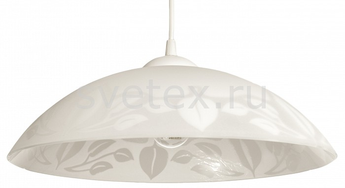 Подвесной светильник Arte LampДля кухни<br>Артикул - AR_A4020SP-1WH,Бренд - Arte Lamp (Италия),Коллекция - Cucina,Гарантия, месяцы - 24,Время изготовления, дней - 1,Высота, мм - 130-760,Диаметр, мм - 360,Тип лампы - компактная люминесцентная [КЛЛ] ИЛИнакаливания ИЛИсветодиодная [LED],Общее кол-во ламп - 1,Напряжение питания лампы, В - 220,Максимальная мощность лампы, Вт - 60,Лампы в комплекте - отсутствуют,Цвет плафонов и подвесок - белый с неокрашенным рисунком,Тип поверхности плафонов - матовый,Материал плафонов и подвесок - стекло,Цвет арматуры - белый,Тип поверхности арматуры - глянцевый,Материал арматуры - полимер,Количество плафонов - 1,Возможность подлючения диммера - можно, если установить лампу накаливания,Тип цоколя лампы - E27,Класс электробезопасности - I,Степень пылевлагозащиты, IP - 20,Диапазон рабочих температур - комнатная температура,Дополнительные параметры - способ крепления светильника к потолку – на крюке<br>
