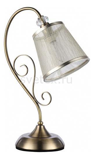 Настольная лампа FreyaС абажуром<br>Артикул - MY_FR405-00-R,Бренд - Freya (Германия),Коллекция - Driana,Гарантия, месяцы - 24,Ширина, мм - 150,Высота, мм - 426,Выступ, мм - 297,Тип лампы - компактная люминесцентная [КЛЛ] ИЛИнакаливания ИЛИсветодиодная  [LED],Общее кол-во ламп - 1,Напряжение питания лампы, В - 220,Максимальная мощность лампы, Вт - 40,Лампы в комплекте - отсутствуют,Цвет плафонов и подвесок - бежевый с каймой,Тип поверхности плафонов - матовый, прозрачный,Материал плафонов и подвесок - ПВХ, органза,Цвет арматуры - бронза античная, неокрашенный,Тип поверхности арматуры - матовый, прозрачный,Материал арматуры - металл, хрусталь,Количество плафонов - 1,Наличие выключателя, диммера или пульта ДУ - выключатель на проводе,Компоненты, входящие в комплект - провод электропитания с вилкой без заземления,Тип цоколя лампы - E14,Класс электробезопасности - II,Степень пылевлагозащиты, IP - 20,Диапазон рабочих температур - комнатная температура,Дополнительные параметры - размер плафона 100x150x140 мм<br>
