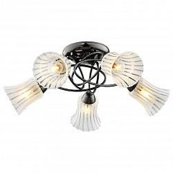 Потолочная люстра IDLamp5 или 6 ламп<br>Артикул - ID_246_5PF-Blackwhite,Бренд - IDLamp (Италия),Коллекция - 246,Время изготовления, дней - 1,Высота, мм - 220,Диаметр, мм - 580,Тип лампы - компактная люминесцентная [КЛЛ] ИЛИнакаливания ИЛИсветодиодная [LED],Общее кол-во ламп - 5,Напряжение питания лампы, В - 220,Максимальная мощность лампы, Вт - 60,Лампы в комплекте - отсутствуют,Цвет плафонов и подвесок - белый полосатый,Тип поверхности плафонов - матовый,Материал плафонов и подвесок - стекло,Цвет арматуры - хром, черный,Тип поверхности арматуры - глянцевый,Материал арматуры - металл,Возможность подлючения диммера - можно, если установить лампу накаливания,Тип цоколя лампы - E27,Класс электробезопасности - I,Общая мощность, Вт - 300,Степень пылевлагозащиты, IP - 20,Диапазон рабочих температур - комнатная температура,Дополнительные параметры - способ крепления светильника к потолку – на монтажной пластине<br>