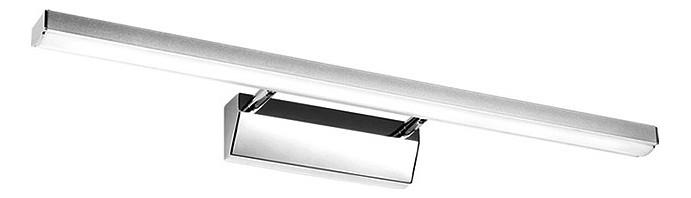 Подсветка для картин Kink LightСветодиодные<br>Артикул - KL_6435-3.02,Бренд - Kink Light (Китай),Коллекция - Проекция,Гарантия, месяцы - 24,Ширина, мм - 600,Высота, мм - 50,Размер упаковки, мм - 110x750x110,Тип лампы - светодиодная [LED],Общее кол-во ламп - 1,Напряжение питания лампы, В - 220,Максимальная мощность лампы, Вт - 10,Цвет лампы - белый,Лампы в комплекте - светодиодная [LED],Цвет плафонов и подвесок - хром,Тип поверхности плафонов - глянцевый,Материал плафонов и подвесок - металл,Цвет арматуры - хром,Тип поверхности арматуры - глянцевый,Материал арматуры - металл,Количество плафонов - 1,Наличие выключателя, диммера или пульта ДУ - выключатель,Цветовая температура, K - 4000 K,Световой поток, лм - 650,Экономичнее лампы накаливания - В 6, 1 раза,Светоотдача, лм/Вт - 65,Класс электробезопасности - I,Степень пылевлагозащиты, IP - 20,Диапазон рабочих температур - комнатная температура,Дополнительные параметры - способ крепления светильника к стене - на монтажной пластине, светильник предназначен для использования со скрытой проводкой<br>