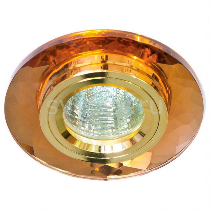 Встраиваемый светильник FeronВстраиваемые светильники<br>Артикул - FE_18646,Бренд - Feron (Китай),Коллекция - 8050-2,Гарантия, месяцы - 24,Глубина, мм - 23,Диаметр, мм - 95,Размер врезного отверстия, мм - 60,Тип лампы - галогеновая ИЛИсветодиодная [LED],Общее кол-во ламп - 1,Напряжение питания лампы, В - 12,Максимальная мощность лампы, Вт - 50,Лампы в комплекте - отсутствуют,Цвет арматуры - коричневый, золото,Тип поверхности арматуры - глянцевый, прозрачный,Материал арматуры - металл, стекло,Возможность подлючения диммера - можно, если установить галогеновую лампу,Необходимые компоненты - трансформатор 12В,Компоненты, входящие в комплект - нет,Форма и тип колбы - полусферическая с рефлектором,Тип цоколя лампы - GU5.3,Класс электробезопасности - I,Напряжение питания, В - 220,Степень пылевлагозащиты, IP - 20,Диапазон рабочих температур - комнатная температура<br>