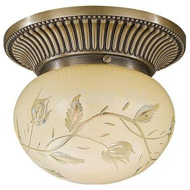Накладной светильник Reccagni AngeloКруглые<br>Артикул - RA_PL_7702_1,Бренд - Reccagni Angelo (Италия),Коллекция - 770,Гарантия, месяцы - 24,Выступ, мм - 140,Диаметр, мм - 160,Тип лампы - компактная люминесцентная [КЛЛ] ИЛИнакаливания ИЛИсветодиодная [LED],Общее кол-во ламп - 1,Напряжение питания лампы, В - 220,Максимальная мощность лампы, Вт - 60,Лампы в комплекте - отсутствуют,Цвет плафонов и подвесок - светло-желтый с рисунком,Тип поверхности плафонов - матовый,Материал плафонов и подвесок - стекло,Цвет арматуры - бронза состаренная,Тип поверхности арматуры - матовый, рельефный,Материал арматуры - латунь,Количество плафонов - 1,Возможность подлючения диммера - можно, если установить лампу накаливания,Тип цоколя лампы - E27,Класс электробезопасности - I,Степень пылевлагозащиты, IP - 20,Диапазон рабочих температур - комнатная температура,Дополнительные параметры - способ крепления светильника к потолку - на монтажной пластине<br>
