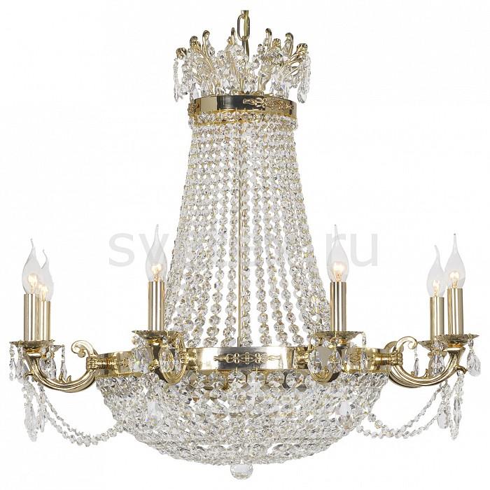 Подвесная люстра Dio D'ArteБолее 6 ламп<br>Артикул - DDA_Lodi_E_1.6.8.400_G,Бренд - Dio D'Arte (Италия),Коллекция - Lodi,Гарантия, месяцы - 24,Высота, мм - 750,Диаметр, мм - 810,Тип лампы - компактная люминесцентная [КЛЛ] ИЛИнакаливания ИЛИсветодиодная  [LED],Общее кол-во ламп - 8,Напряжение питания лампы, В - 220,Максимальная мощность лампы, Вт - 40,Лампы в комплекте - отсутствуют,Цвет плафонов и подвесок - неокрашенный,Тип поверхности плафонов - прозрачный,Материал плафонов и подвесок - хрусталь Swarovski Elements,Цвет арматуры - золото,Тип поверхности арматуры - глянцевый,Материал арматуры - металл,Возможность подлючения диммера - можно, если установить лампу накаливания,Форма и тип колбы - свеча ИЛИ свеча на ветру,Тип цоколя лампы - E14,Класс электробезопасности - I,Общая мощность, Вт - 320,Степень пылевлагозащиты, IP - 20,Диапазон рабочих температур - комнатная температура,Дополнительные параметры - способ крепления светильника к потолку - на крюке, указана высота светильника без подвеса<br>