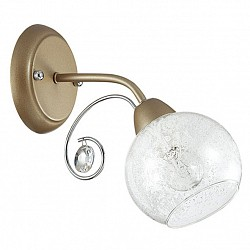 Бра LumionС 1 лампой<br>Артикул - LMN_3270_1W,Бренд - Lumion (Италия),Коллекция - Razerra,Гарантия, месяцы - 24,Высота, мм - 235,Тип лампы - компактная люминесцентная [КЛЛ] ИЛИнакаливания ИЛИсветодиодная [LED],Общее кол-во ламп - 1,Напряжение питания лампы, В - 220,Максимальная мощность лампы, Вт - 60,Лампы в комплекте - отсутствуют,Цвет плафонов и подвесок - неокрашенный с белым рисунком, неокрашенный,Тип поверхности плафонов - матовый, прозрачный,Материал плафонов и подвесок - стекло, хрусталь,Цвет арматуры - никель, хром,Тип поверхности арматуры - матовый, металлик,Материал арматуры - металл,Возможность подлючения диммера - можно, если установить лампу накаливания,Тип цоколя лампы - E14,Класс электробезопасности - I,Степень пылевлагозащиты, IP - 20,Диапазон рабочих температур - комнатная температура,Дополнительные параметры - способ крепления светильника на стене – на монтажной пластине, светильник предназначен для использования со скрытой проводкой<br>