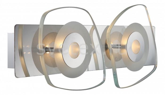 Накладной светильник GloboСветодиодные<br>Артикул - GB_41710-2,Бренд - Globo (Австрия),Коллекция - Zarima,Гарантия, месяцы - 24,Длина, мм - 330,Ширина, мм - 130,Выступ, мм - 65,Тип лампы - светодиодная [LED],Общее кол-во ламп - 2,Напряжение питания лампы, В - 9,Максимальная мощность лампы, Вт - 4.5,Цвет лампы - белый теплый,Лампы в комплекте - светодиодные [LED],Цвет плафонов и подвесок - неокрашенный,Тип поверхности плафонов - прозрачный,Материал плафонов и подвесок - стекло,Цвет арматуры - хром,Тип поверхности арматуры - глянцевый,Материал арматуры - металл,Количество плафонов - 2,Возможность подлючения диммера - нельзя,Компоненты, входящие в комплект - блок питания 9 В,Цветовая температура, K - 3000 K,Световой поток, лм - 720,Экономичнее лампы накаливания - в 6.9 раза,Светоотдача, лм/Вт - 80,Класс электробезопасности - I,Напряжение питания, В - 220,Общая мощность, Вт - 9,Степень пылевлагозащиты, IP - 20,Диапазон рабочих температур - комнатная температура<br>