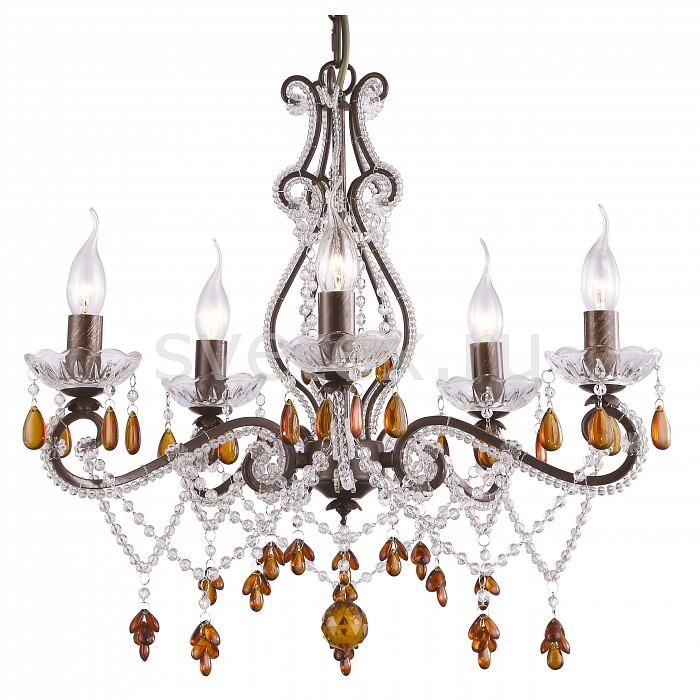 Фото Подвесная люстра Arte Lamp Decorato A1715LM-5BR