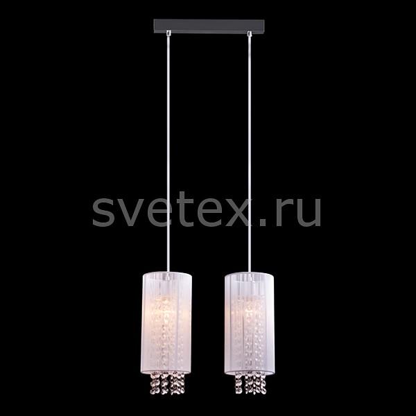 Подвесной светильник EurosvetПодвесные светильники<br>Артикул - EV_5766,Бренд - Eurosvet (Китай),Коллекция - 1188,Гарантия, месяцы - 24,Длина, мм - 340,Ширина, мм - 120,Высота, мм - 100,Тип лампы - компактная люминесцентная [КЛЛ] ИЛИнакаливания ИЛИсветодиодная [LED],Общее кол-во ламп - 2,Напряжение питания лампы, В - 220,Максимальная мощность лампы, Вт - 60,Лампы в комплекте - отсутствуют,Цвет плафонов и подвесок - белый, неокрашенный,Тип поверхности плафонов - прозрачный,Материал плафонов и подвесок - текстиль, хрусталь,Цвет арматуры - хром,Тип поверхности арматуры - глянцевый,Материал арматуры - металл,Количество плафонов - 2,Тип цоколя лампы - E14,Класс электробезопасности - I,Общая мощность, Вт - 120,Степень пылевлагозащиты, IP - 20,Диапазон рабочих температур - комнатная температура<br>