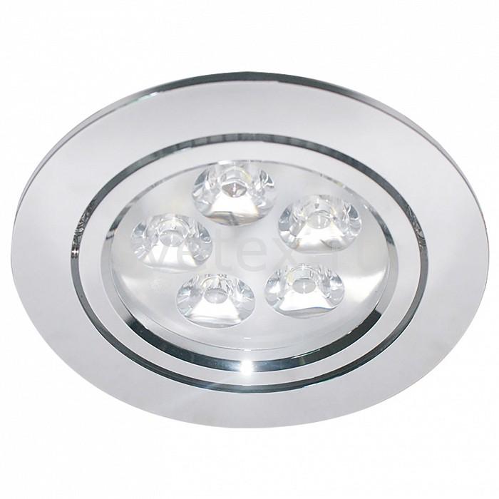 Встраиваемый светильник LightstarКруглые<br>Артикул - LS_070054,Бренд - Lightstar (Италия),Коллекция - Acuto,Гарантия, месяцы - 24,Время изготовления, дней - 1,Выступ, мм - 3,Глубина, мм - 57,Диаметр, мм - 105,Размер врезного отверстия, мм - 87,Тип лампы - светодиодная [LED],Общее кол-во ламп - 5,Напряжение питания лампы, В - 12,Максимальная мощность лампы, Вт - 1,Цвет лампы - белый,Лампы в комплекте - светодиодные [LED],Цвет плафонов и подвесок - неокрашенный,Тип поверхности плафонов - прозрачный,Материал плафонов и подвесок - стекло,Цвет арматуры - хром,Тип поверхности арматуры - глянцевый,Материал арматуры - металл,Количество плафонов - 1,Возможность подлючения диммера - можно,Компоненты, входящие в комплект - блок питания 12 В,Цветовая температура, K - 4200 K,Экономичнее лампы накаливания - в 15 раз,Класс электробезопасности - II,Напряжение питания, В - 220,Общая мощность, Вт - 5,Степень пылевлагозащиты, IP - 20,Диапазон рабочих температур - комнатная температура<br>
