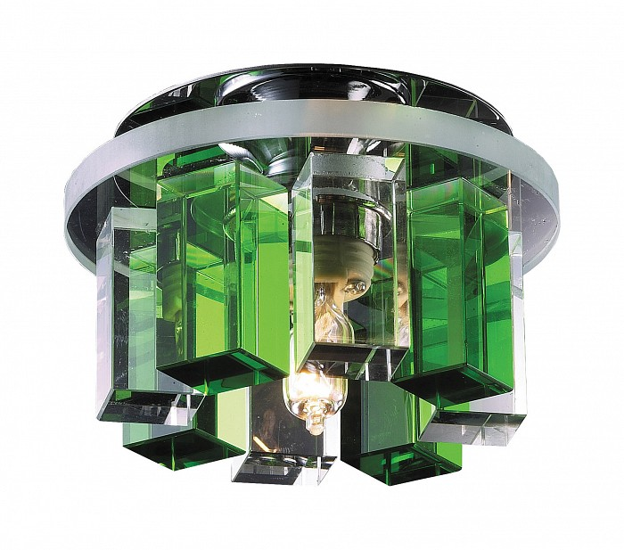 Встраиваемый светильник NovotechКруглые<br>Артикул - NV_369357,Бренд - Novotech (Венгрия),Коллекция - Caramel 3,Гарантия, месяцы - 24,Время изготовления, дней - 1,Глубина, мм - 20,Диаметр, мм - 105,Размер врезного отверстия, мм - 50,Тип лампы - галогеновая ИЛИсветодиодная [LED],Общее кол-во ламп - 1,Напряжение питания лампы, В - 220,Максимальная мощность лампы, Вт - 40,Лампы в комплекте - отсутствуют,Цвет плафонов и подвесок - зеленый, неокрашенный,Тип поверхности плафонов - прозрачный,Материал плафонов и подвесок - оптическое стекло,Цвет арматуры - хром,Тип поверхности арматуры - глянцевый,Материал арматуры - металл,Количество плафонов - 1,Возможность подлючения диммера - можно, если установить галогеновую лампу,Форма и тип колбы - пальчиковая,Тип цоколя лампы - G9,Экономичнее лампы накаливания - на 50%,Класс электробезопасности - I,Степень пылевлагозащиты, IP - 20,Диапазон рабочих температур - комнатная температура<br>