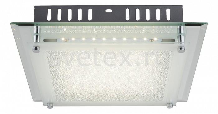 Накладной светильник GloboКвадратные<br>Артикул - GB_49357-12,Бренд - Globo (Австрия),Коллекция - Aisha,Гарантия, месяцы - 24,Длина, мм - 280,Ширина, мм - 280,Высота, мм - 70,Размер упаковки, мм - 380х80х300,Тип лампы - светодиодная [LED],Общее кол-во ламп - 1,Напряжение питания лампы, В - 220,Максимальная мощность лампы, Вт - 12,Лампы в комплекте - светодиодная [LED],Цвет плафонов и подвесок - неокрашенный с белой каймой,Тип поверхности плафонов - матовый, прозрачный,Материал плафонов и подвесок - стекло,Цвет арматуры - хром,Тип поверхности арматуры - глянцевый, металлик,Материал арматуры - металл,Количество плафонов - 1,Возможность подлючения диммера - нельзя,Световой поток, лм - 1010,Экономичнее лампы накаливания - в 7, 2 раза,Светоотдача, лм/Вт - 84,Класс электробезопасности - I,Степень пылевлагозащиты, IP - 20,Диапазон рабочих температур - комнатная температура,Дополнительные параметры - способ крепления светильника к потолку – на монтажной пластине<br>