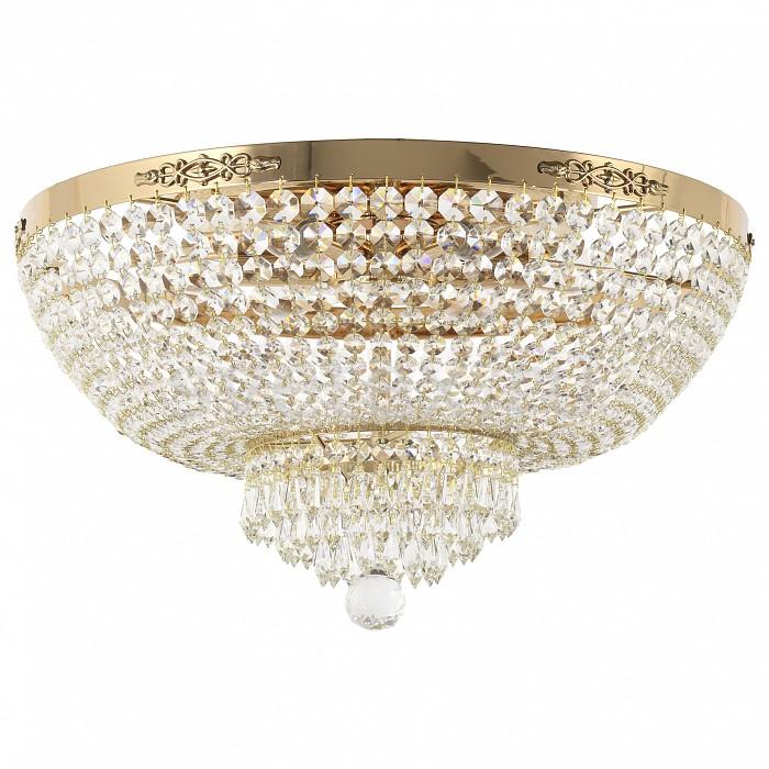 Потолочная люстра Dio D'Arte5 или 6 ламп<br>Артикул - DDA_Lodi_E_1.2.50.400_G,Бренд - Dio D'Arte (Италия),Коллекция - Lodi,Гарантия, месяцы - 24,Высота, мм - 300,Диаметр, мм - 500,Тип лампы - компактная люминесцентная [КЛЛ] ИЛИнакаливания ИЛИсветодиодная  [LED],Общее кол-во ламп - 6,Напряжение питания лампы, В - 220,Максимальная мощность лампы, Вт - 60,Лампы в комплекте - отсутствуют,Цвет плафонов и подвесок - неокрашенный,Тип поверхности плафонов - прозрачный,Материал плафонов и подвесок - хрусталь Swarovski Elements,Цвет арматуры - золото,Тип поверхности арматуры - глянцевый,Материал арматуры - металл,Возможность подлючения диммера - можно, если установить лампу накаливания,Форма и тип колбы - свеча ИЛИ свеча на ветру,Тип цоколя лампы - E27,Класс электробезопасности - I,Общая мощность, Вт - 360,Степень пылевлагозащиты, IP - 20,Диапазон рабочих температур - комнатная температура,Дополнительные параметры - способ крепления светильника к потолку - на монтажной пластине<br>