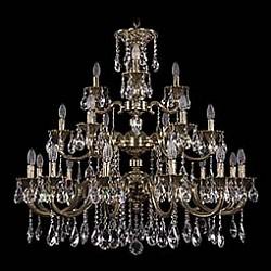 Подвесная люстра Bohemia Ivele CrystalБолее 6 ламп<br>Артикул - BI_1732_12_6_3_335_A_GB,Бренд - Bohemia Ivele Crystal (Чехия),Коллекция - 1732,Гарантия, месяцы - 24,Высота, мм - 750,Диаметр, мм - 980,Размер упаковки, мм - 710x710x240,Тип лампы - компактная люминесцентная [КЛЛ] ИЛИнакаливания ИЛИсветодиодная [LED],Общее кол-во ламп - 21,Напряжение питания лампы, В - 220,Максимальная мощность лампы, Вт - 40,Лампы в комплекте - отсутствуют,Цвет плафонов и подвесок - неокрашенный,Тип поверхности плафонов - прозрачный,Материал плафонов и подвесок - хрусталь,Цвет арматуры - золото черненое,Тип поверхности арматуры - глянцевый, рельефный,Материал арматуры - латунь,Возможность подлючения диммера - можно, если установить лампу накаливания,Форма и тип колбы - свеча ИЛИ свеча на ветру,Тип цоколя лампы - E14,Класс электробезопасности - I,Общая мощность, Вт - 840,Степень пылевлагозащиты, IP - 20,Диапазон рабочих температур - комнатная температура,Дополнительные параметры - способ крепления светильника к потолку - на крюке, указана высота светильника без подвеса<br>
