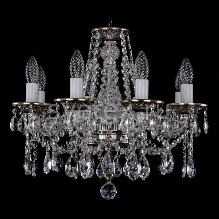 Фото Подвесная люстра Bohemia Ivele Crystal 1613 1613/8/165/NB
