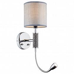 Бра с подсветкой GloboТекстильный плафон<br>Артикул - GB_24688W,Бренд - Globo (Австрия),Коллекция - Umbrella,Гарантия, месяцы - 24,Высота, мм - 585,Размер упаковки, мм - 225х190х345,Тип лампы - компактная люминесцентная [КЛЛ], светодиодная [LED] ИЛИнакаливания, светодиодная [LED] ИЛИсветодиодные [LED],Общее кол-во ламп - 2,Напряжение питания лампы, В - 220,Максимальная мощность лампы, Вт - 40, 3,Лампы в комплекте - светодиодные [LED],Цвет плафонов и подвесок - серый с каймой,Тип поверхности плафонов - матовый,Материал плафонов и подвесок - ткань,Цвет арматуры - хром,Тип поверхности арматуры - глянцевый, металлик,Материал арматуры - металл,Возможность подлючения диммера - нельзя,Тип цоколя лампы - E14,Класс электробезопасности - I,Общая мощность, Вт - 43,Степень пылевлагозащиты, IP - 20,Диапазон рабочих температур - комнатная температура,Дополнительные параметры - светильник предназначен для использования со скрытой проводкой<br>