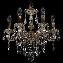 Подвесная люстра Bohemia Ivele Crystal5 или 6 ламп<br>Артикул - BI_1707_6_125_B_GI,Бренд - Bohemia Ivele Crystal (Чехия),Коллекция - 1707,Гарантия, месяцы - 24,Высота, мм - 350,Диаметр, мм - 420,Размер упаковки, мм - 450x450x200,Тип лампы - компактная люминесцентная [КЛЛ] ИЛИнакаливания ИЛИсветодиодная [LED],Общее кол-во ламп - 6,Напряжение питания лампы, В - 220,Максимальная мощность лампы, Вт - 40,Лампы в комплекте - отсутствуют,Цвет плафонов и подвесок - неокрашенный,Тип поверхности плафонов - прозрачный,Материал плафонов и подвесок - хрусталь,Цвет арматуры - золото, слоновая кость,Тип поверхности арматуры - глянцевый, рельефный,Материал арматуры - латунь,Возможность подлючения диммера - можно, если установить лампу накаливания,Форма и тип колбы - свеча ИЛИ свеча на ветру,Тип цоколя лампы - E14,Класс электробезопасности - I,Общая мощность, Вт - 240,Степень пылевлагозащиты, IP - 20,Диапазон рабочих температур - комнатная температура,Дополнительные параметры - способ крепления светильника к потолку - на крюке, указана высота светильника без подвеса<br>