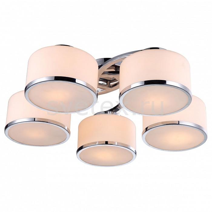 Потолочная люстра Arte LampЛюстры<br>Артикул - AR_A9495PL-5CC,Бренд - Arte Lamp (Италия),Коллекция - Manhattan,Гарантия, месяцы - 24,Время изготовления, дней - 1,Высота, мм - 220,Диаметр, мм - 680,Тип лампы - компактная люминесцентная [КЛЛ] ИЛИнакаливания ИЛИсветодиодная [LED],Общее кол-во ламп - 5,Напряжение питания лампы, В - 220,Максимальная мощность лампы, Вт - 40,Лампы в комплекте - отсутствуют,Цвет плафонов и подвесок - белый с хромированной каймой,Тип поверхности плафонов - глянцевый, матовый,Материал плафонов и подвесок - стекло,Цвет арматуры - хром,Тип поверхности арматуры - глянцевый,Материал арматуры - металл,Количество плафонов - 5,Возможность подлючения диммера - можно, если установить лампу накаливания,Тип цоколя лампы - E27,Класс электробезопасности - I,Общая мощность, Вт - 200,Степень пылевлагозащиты, IP - 20,Диапазон рабочих температур - комнатная температура<br>