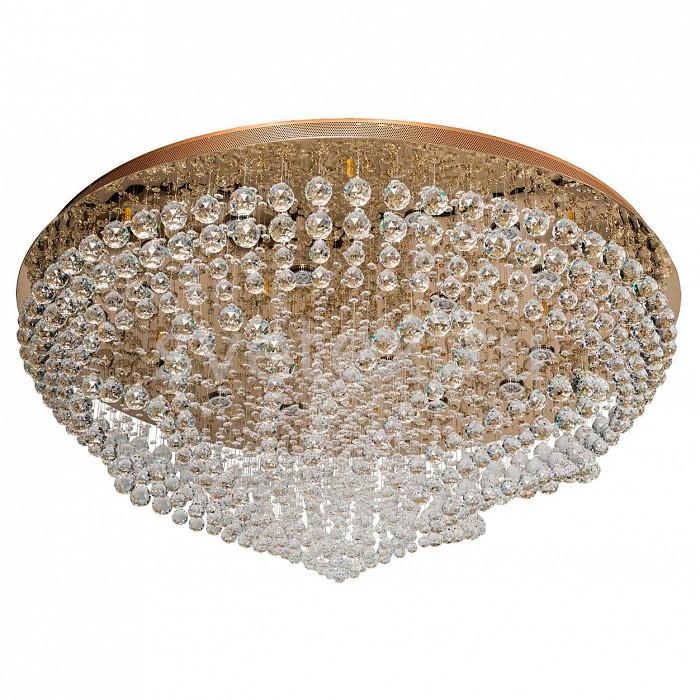 Потолочная люстра ChiaroСветодиодные<br>Артикул - CH_464015616,Бренд - Chiaro (Германия),Коллекция - Бриз 9,Гарантия, месяцы - 12,Высота, мм - 560,Диаметр, мм - 1200,Размер упаковки, мм - 1350x1350x190,Тип лампы - светодиодная [LED],Общее кол-во ламп - 16,Напряжение питания лампы, В - 220,Максимальная мощность лампы, Вт - 3,Цвет лампы - белый,Лампы в комплекте - светодиодные [LED] GU10,Цвет плафонов и подвесок - неокрашенный,Тип поверхности плафонов - прозрачный,Материал плафонов и подвесок - хрусталь,Цвет арматуры - золото,Тип поверхности арматуры - глянцевый,Материал арматуры - металл,Наличие выключателя, диммера или пульта ДУ - пульт ДУ,Форма и тип колбы - полусферическая с рефлектором,Тип цоколя лампы - GU10,Цветовая температура, K - 4000 K,Класс электробезопасности - I,Общая мощность, Вт - 48,Степень пылевлагозащиты, IP - 20,Диапазон рабочих температур - комнатная температура,Дополнительные параметры - способ крепления светильника к потолку – на монтажной пластине<br>