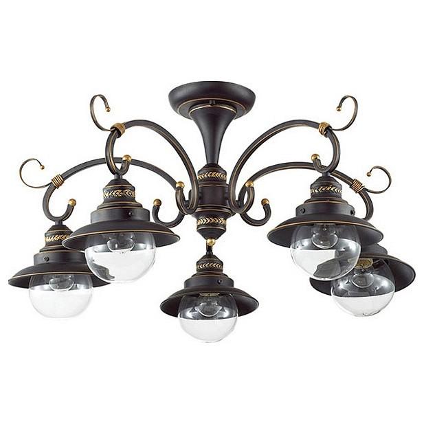 Люстра на штанге Odeon LightЛюстры<br>Артикул - OD_3249_5C,Бренд - Odeon Light (Италия),Коллекция - Sandrina,Гарантия, месяцы - 24,Высота, мм - 350,Диаметр, мм - 730,Тип лампы - компактная люминесцентная [КЛЛ] ИЛИнакаливания ИЛИсветодиодная [LED],Общее кол-во ламп - 5,Напряжение питания лампы, В - 220,Максимальная мощность лампы, Вт - 60,Лампы в комплекте - отсутствуют,Цвет плафонов и подвесок - неокрашенный,Тип поверхности плафонов - прозрачный,Материал плафонов и подвесок - стекло,Цвет арматуры - кофе с золотой патиной,Тип поверхности арматуры - глянцевый, матовый,Материал арматуры - металл,Количество плафонов - 5,Возможность подлючения диммера - можно, если установить лампу накаливания,Тип цоколя лампы - E14,Класс электробезопасности - I,Общая мощность, Вт - 300,Степень пылевлагозащиты, IP - 20,Диапазон рабочих температур - комнатная температура,Дополнительные параметры - способ крепления светильника к потолку - на монтажной пластине<br>