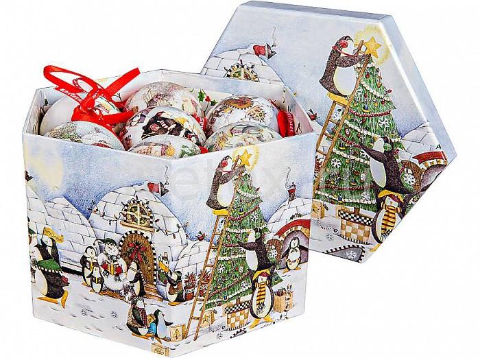 Елочный шар Mister ChristmasЕлочные игрушки<br>Артикул - MC_PM-71-14,Бренд - Mister Christmas (Россия),Коллекция - PM-71,Диаметр, мм - 75,Диаметр - 7.5 см,Цвет - разноцветный,Материал - папье-маше<br>