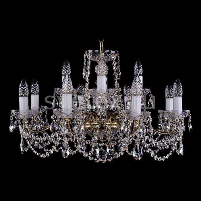 Фото Подвесная люстра Bohemia Ivele Crystal 1214 1214/8_4/220/G
