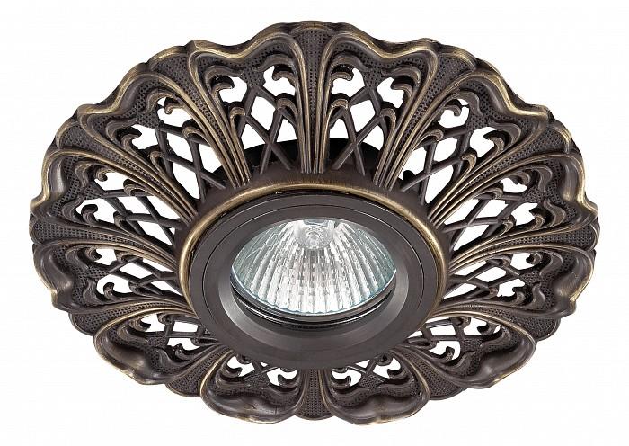 Встраиваемый светильник NovotechВстраиваемые светильники<br>Артикул - NV_370031,Бренд - Novotech (Венгрия),Коллекция - Vintage,Гарантия, месяцы - 24,Время изготовления, дней - 1,Глубина, мм - 20,Диаметр, мм - 135,Размер врезного отверстия, мм - 70,Тип лампы - галогеновая ИЛИсветодиодная [LED],Общее кол-во ламп - 1,Напряжение питания лампы, В - 12,Максимальная мощность лампы, Вт - 50,Лампы в комплекте - отсутствуют,Цвет арматуры - темная бронза,Тип поверхности арматуры - глянцевый, рельефный,Материал арматуры - алюминий,Необходимые компоненты - трансформатор 12В,Компоненты, входящие в комплект - нет,Форма и тип колбы - полусферическая с рефлектором,Тип цоколя лампы - GX5.3,Класс электробезопасности - III,Напряжение питания, В - 220,Степень пылевлагозащиты, IP - 20,Диапазон рабочих температур - комнатная температура,Дополнительные параметры - алюминиевое литье<br>