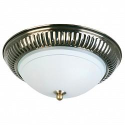 Накладной светильник TopLightКруглые<br>Артикул - TPL_TL5040Y-02AB,Бренд - TopLight (Россия),Коллекция - Dora,Гарантия, месяцы - 24,Высота, мм - 100,Диаметр, мм - 270,Тип лампы - компактная люминесцентная [КЛЛ] ИЛИнакаливания ИЛИсветодиодная [LED],Общее кол-во ламп - 2,Напряжение питания лампы, В - 220,Максимальная мощность лампы, Вт - 40,Лампы в комплекте - отсутствуют,Цвет плафонов и подвесок - белый с каймой,Тип поверхности плафонов - матовый,Материал плафонов и подвесок - стекло,Цвет арматуры - бронза античная,Тип поверхности арматуры - матовый, рельефный,Материал арматуры - металл,Возможность подлючения диммера - можно, если установить лампу накаливания,Тип цоколя лампы - E27,Класс электробезопасности - I,Общая мощность, Вт - 80,Степень пылевлагозащиты, IP - 20,Диапазон рабочих температур - комнатная температура,Дополнительные параметры - способ крепления светильника к потолку - на монтажной пластине<br>