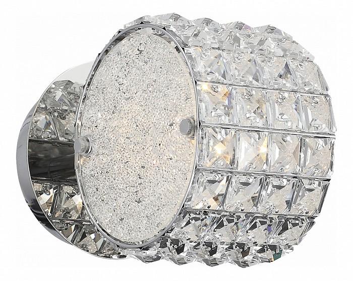 Бра ST-LuceХРУСТАЛЬНЫЕ светильники<br>Артикул - SL752.101.01,Бренд - ST-Luce (Китай),Коллекция - Piatto,Гарантия, месяцы - 24,Ширина, мм - 160,Высота, мм - 160,Выступ, мм - 200,Тип лампы - компактная люминесцентная [КЛЛ] ИЛИнакаливания ИЛИсветодиодная [LED],Общее кол-во ламп - 1,Напряжение питания лампы, В - 220,Максимальная мощность лампы, Вт - 40,Лампы в комплекте - отсутствуют,Цвет плафонов и подвесок - неокрашенный,Тип поверхности плафонов - прозрачный,Материал плафонов и подвесок - стекло, хрусталь,Цвет арматуры - хром,Тип поверхности арматуры - глянцевый,Материал арматуры - металл,Количество плафонов - 1,Возможность подлючения диммера - можно, если установить лампу накаливания,Тип цоколя лампы - E14,Класс электробезопасности - I,Степень пылевлагозащиты, IP - 20,Диапазон рабочих температур - комнатная температура,Дополнительные параметры - способ крепления светильника к стене - на монтажной пластине, светильник предназначен для использования со скрытой проводкой<br>