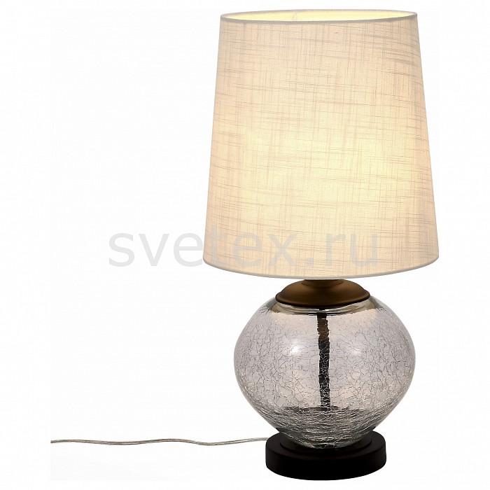 Настольная лампа декоративная ST-LuceС абажуром<br>Артикул - SL971.104.01,Бренд - ST-Luce (Китай),Коллекция - Ampolla,Гарантия, месяцы - 24,Высота, мм - 570,Диаметр, мм - 300,Размер упаковки, мм - 420x410x570,Тип лампы - компактная люминесцентная [КЛЛ] ИЛИнакаливания ИЛИсветодиодная [LED],Общее кол-во ламп - 1,Напряжение питания лампы, В - 220,Максимальная мощность лампы, Вт - 60,Лампы в комплекте - отсутствуют,Цвет плафонов и подвесок - белый,Тип поверхности плафонов - матовый,Материал плафонов и подвесок - текстиль,Цвет арматуры - неокрашенный, хром,Тип поверхности арматуры - глянцевый, прозрачный,Материал арматуры - металл, стекло,Количество плафонов - 1,Наличие выключателя, диммера или пульта ДУ - выключатель на проводе,Компоненты, входящие в комплект - провод электропитания с вилкой без заземления,Тип цоколя лампы - E27,Класс электробезопасности - II,Степень пылевлагозащиты, IP - 20,Диапазон рабочих температур - комнатная температура<br>