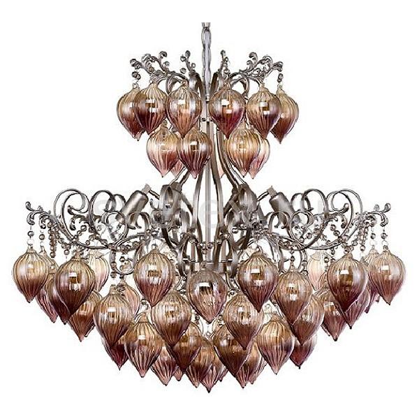 Подвесная люстра Crystal Lux5 или 6 ламп<br>Артикул - CU_1830_206,Бренд - Crystal Lux (Испания),Коллекция - Fresa,Гарантия, месяцы - 24,Высота, мм - 545-600,Диаметр, мм - 613,Тип лампы - компактная люминесцентная [КЛЛ] ИЛИнакаливания ИЛИсветодиодная [LED],Общее кол-во ламп - 6,Напряжение питания лампы, В - 220,Максимальная мощность лампы, Вт - 60,Лампы в комплекте - отсутствуют,Цвет плафонов и подвесок - янтарный,Тип поверхности плафонов - прозрачный, рельефный,Материал плафонов и подвесок - стекло,Цвет арматуры - серебро античное,Тип поверхности арматуры - матовый,Материал арматуры - металл,Возможность подлючения диммера - можно, если установить лампу накаливания,Форма и тип колбы - свеча,Тип цоколя лампы - E14,Класс электробезопасности - I,Общая мощность, Вт - 360,Степень пылевлагозащиты, IP - 20,Диапазон рабочих температур - комнатная температура,Дополнительные параметры - регулируется по высоте,  способ крепления светильника к потолку – на крюке<br>