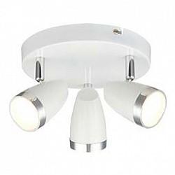 Спот GloboС 3 лампами<br>Артикул - GB_56109-3,Бренд - Globo (Австрия),Коллекция - Minou,Гарантия, месяцы - 24,Диаметр, мм - 190,Размер упаковки, мм - 195х195х125,Тип лампы - светодиодная [LED],Общее кол-во ламп - 3,Напряжение питания лампы, В - 220,Максимальная мощность лампы, Вт - 4,Лампы в комплекте - светодиодные [LED],Цвет плафонов и подвесок - белый с хромированой каймой,Тип поверхности плафонов - глянцевый, матовый,Материал плафонов и подвесок - металл,Цвет арматуры - белый, хром,Тип поверхности арматуры - глянцевый, матовый, металлик,Материал арматуры - металл,Возможность подлючения диммера - нельзя,Класс электробезопасности - I,Общая мощность, Вт - 12,Степень пылевлагозащиты, IP - 20,Диапазон рабочих температур - комнатная температура,Дополнительные параметры - поворотный светильник<br>