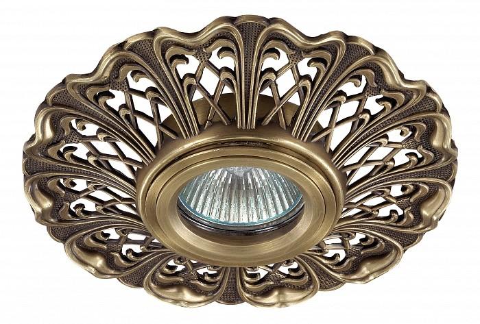 Встраиваемый светильник NovotechВстраиваемые светильники<br>Артикул - NV_370030,Бренд - Novotech (Венгрия),Коллекция - Vintage,Гарантия, месяцы - 24,Время изготовления, дней - 1,Глубина, мм - 20,Диаметр, мм - 135,Размер врезного отверстия, мм - 70,Тип лампы - галогеновая ИЛИсветодиодная [LED],Общее кол-во ламп - 1,Напряжение питания лампы, В - 12,Максимальная мощность лампы, Вт - 50,Лампы в комплекте - отсутствуют,Цвет арматуры - светлая бронза,Тип поверхности арматуры - глянцевый, рельефный,Материал арматуры - алюминий,Необходимые компоненты - трансформатор 12В,Компоненты, входящие в комплект - нет,Форма и тип колбы - полусферическая с рефлектором,Тип цоколя лампы - GX5.3,Класс электробезопасности - III,Напряжение питания, В - 220,Степень пылевлагозащиты, IP - 20,Диапазон рабочих температур - комнатная температура,Дополнительные параметры - алюминиевое литье<br>