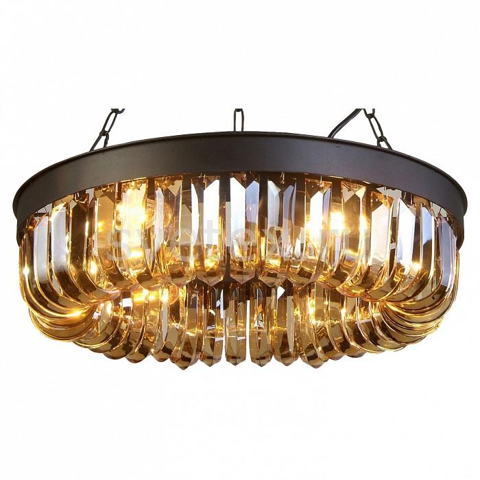 Подвесной светильник FavouriteПодвесные светильники<br>Артикул - FV_1657-6P,Бренд - Favourite (Германия),Коллекция - Amber,Гарантия, месяцы - 24,Высота, мм - 350-1000,Диаметр, мм - 500,Тип лампы - компактная люминесцентная [КЛЛ] ИЛИнакаливания ИЛИсветодиодная [LED],Общее кол-во ламп - 6,Напряжение питания лампы, В - 220,Максимальная мощность лампы, Вт - 40,Лампы в комплекте - отсутствуют,Цвет плафонов и подвесок - янтарный,Тип поверхности плафонов - прозрачный,Материал плафонов и подвесок - хрусталь,Цвет арматуры - черный,Тип поверхности арматуры - матовый,Материал арматуры - металл,Количество плафонов - 1,Возможность подлючения диммера - можно, если установить лампу накаливания,Тип цоколя лампы - E14,Класс электробезопасности - I,Общая мощность, Вт - 240,Степень пылевлагозащиты, IP - 20,Диапазон рабочих температур - комнатная температура,Дополнительные параметры - способ крепления светильника к потолку - на крюке, регулируется по высоте<br>