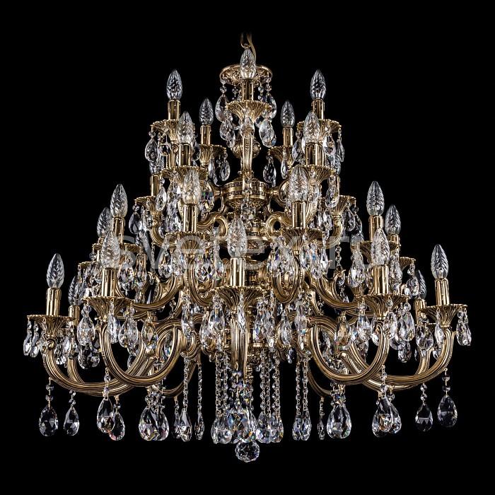 Фото Подвесная люстра Bohemia Ivele Crystal 1702 1702/10_10_5_5/335/A/GB