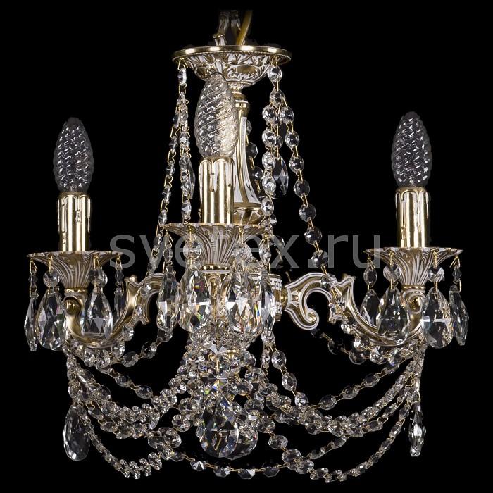 Подвесная люстра Bohemia Ivele CrystalНе более 4 ламп<br>Артикул - BI_1707_3_125_C_GW,Бренд - Bohemia Ivele Crystal (Чехия),Коллекция - 1707,Гарантия, месяцы - 24,Высота, мм - 350,Диаметр, мм - 420,Размер упаковки, мм - 450x450x200,Тип лампы - компактная люминесцентная [КЛЛ] ИЛИнакаливания ИЛИсветодиодная [LED],Общее кол-во ламп - 3,Напряжение питания лампы, В - 220,Максимальная мощность лампы, Вт - 40,Лампы в комплекте - отсутствуют,Цвет плафонов и подвесок - неокрашенный,Тип поверхности плафонов - прозрачный,Материал плафонов и подвесок - хрусталь,Цвет арматуры - золото беленое,Тип поверхности арматуры - глянцевый, рельефный,Материал арматуры - латунь,Возможность подлючения диммера - можно, если установить лампу накаливания,Форма и тип колбы - свеча ИЛИ свеча на ветру,Тип цоколя лампы - E14,Класс электробезопасности - I,Общая мощность, Вт - 120,Степень пылевлагозащиты, IP - 20,Диапазон рабочих температур - комнатная температура,Дополнительные параметры - способ крепления светильника к потолку - на крюке, указана высота светильника без подвеса<br>