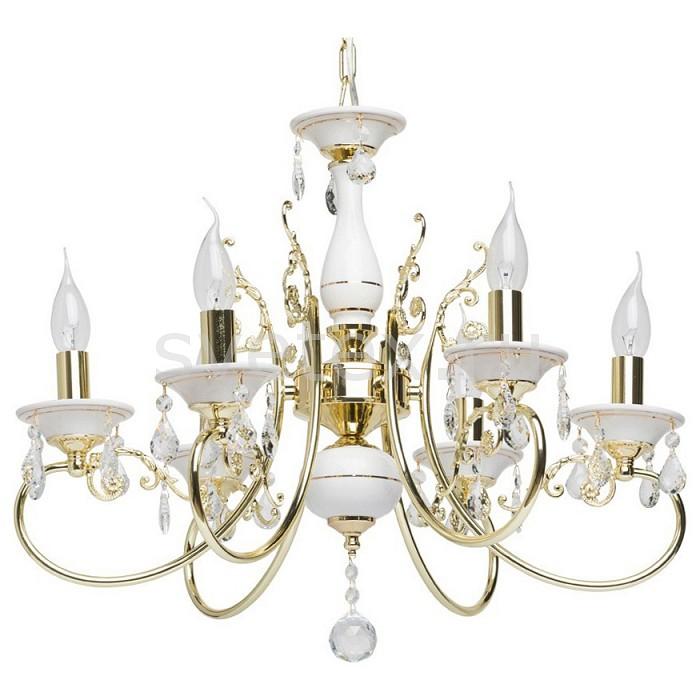 Подвесная люстра MW-Light5 или 6 ламп<br>Артикул - MW_301018106,Бренд - MW-Light (Германия),Коллекция - Свеча 11,Гарантия, месяцы - 24,Высота, мм - 650-900,Диаметр, мм - 560,Тип лампы - компактная люминесцентная [КЛЛ] ИЛИнакаливания ИЛИсветодиодная [LED],Общее кол-во ламп - 6,Напряжение питания лампы, В - 220,Максимальная мощность лампы, Вт - 60,Лампы в комплекте - отсутствуют,Цвет плафонов и подвесок - неокрашенный,Тип поверхности плафонов - прозрачный,Материал плафонов и подвесок - хрусталь,Цвет арматуры - слоновая кость с золотом,Тип поверхности арматуры - матовый,Материал арматуры - металл,Возможность подлючения диммера - можно, если установить лампу накаливания,Форма и тип колбы - свеча ИЛИ свеча на ветру,Тип цоколя лампы - E14,Класс электробезопасности - I,Общая мощность, Вт - 360,Степень пылевлагозащиты, IP - 20,Диапазон рабочих температур - комнатная температура,Дополнительные параметры - способ крепления светильника на потолке - на крюке, регулируется по высоте<br>
