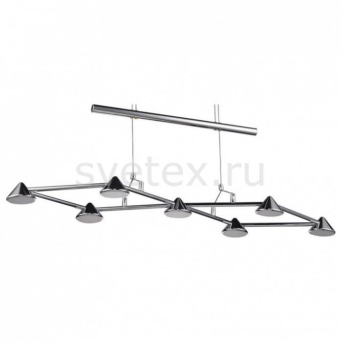 Подвесная люстра MW-LightМеталлические плафоны<br>Артикул - MW_632010807,Бренд - MW-Light (Германия),Коллекция - Гэлэкси 4,Гарантия, месяцы - 24,Длина, мм - 900,Ширина, мм - 310,Высота, мм - 1830,Тип лампы - светодиодная [LED],Общее кол-во ламп - 7,Напряжение питания лампы, В - 12,Максимальная мощность лампы, Вт - 4.85,Цвет лампы - белый,Лампы в комплекте - светодиодные [LED],Цвет плафонов и подвесок - хром,Тип поверхности плафонов - глянцевый,Материал плафонов и подвесок - металл,Цвет арматуры - хром,Тип поверхности арматуры - глянцевый,Материал арматуры - металл,Количество плафонов - 7,Возможность подлючения диммера - нельзя,Компоненты, входящие в комплект - трансформатор 12В,Цветовая температура, K - 4000 K,Световой поток, лм - 5600,Экономичнее лампы накаливания - в 10 раз,Светоотдача, лм/Вт - 165,Класс электробезопасности - I,Напряжение питания, В - 220,Общая мощность, Вт - 33,Степень пылевлагозащиты, IP - 20,Диапазон рабочих температур - комнатная температура,Дополнительные параметры - способ крепления светильника на стене – на монтажной пластине<br>