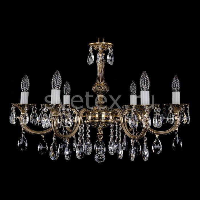 Фото Подвесная люстра Bohemia Ivele Crystal 1702 1702/6/A/GB