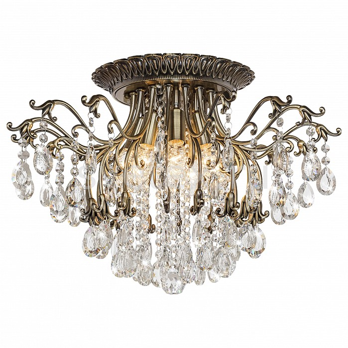 Потолочная люстра SilverLightБолее 6 ламп<br>Артикул - SL_734.53.8,Бренд - SilverLight (Франция),Коллекция - Clare,Гарантия, месяцы - 24,Высота, мм - 370,Диаметр, мм - 580,Размер упаковки, мм - 310x310x320,Тип лампы - компактная люминесцентная [КЛЛ] ИЛИнакаливания ИЛИсветодиодная [LED],Общее кол-во ламп - 8,Напряжение питания лампы, В - 220,Максимальная мощность лампы, Вт - 60,Лампы в комплекте - отсутствуют,Цвет плафонов и подвесок - неокрашенный,Тип поверхности плафонов - прозрачный,Материал плафонов и подвесок - хрусталь,Цвет арматуры - бронза,Тип поверхности арматуры - матовый,Материал арматуры - металл,Возможность подлючения диммера - можно, если установить лампу накаливания,Форма и тип колбы - свеча,Тип цоколя лампы - E14,Класс электробезопасности - I,Общая мощность, Вт - 480,Степень пылевлагозащиты, IP - 20,Диапазон рабочих температур - комнатная температура,Дополнительные параметры - способ крепления светильника к потолку - на монтажной пластине<br>
