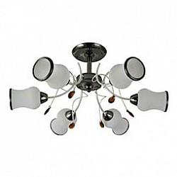 Люстра на штанге Mobitlux5 или 6 ламп<br>Артикул - MB_603.05,Бренд - Mobitlux (Австрия),Коллекция - MB-603,Гарантия, месяцы - 24,Высота, мм - 290,Диаметр, мм - 550,Тип лампы - компактная люминесцентная [КЛЛ] ИЛИнакаливания ИЛИсветодиодная [LED],Общее кол-во ламп - 6,Напряжение питания лампы, В - 220,Максимальная мощность лампы, Вт - 40,Лампы в комплекте - отсутствуют,Цвет плафонов и подвесок - белый с каймой, янтарный,Тип поверхности плафонов - матовый,Материал плафонов и подвесок - стекло,Цвет арматуры - черный никель,Тип поверхности арматуры - глянцевый,Материал арматуры - металл,Возможность подлючения диммера - можно, если установить лампу накаливания,Тип цоколя лампы - E14,Класс электробезопасности - I,Общая мощность, Вт - 240,Степень пылевлагозащиты, IP - 20,Диапазон рабочих температур - комнатная температура<br>