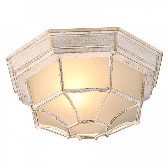 Накладной светильник Arte LampСветильники<br>Артикул - AR_A3121PF-1WG,Бренд - Arte Lamp (Италия),Коллекция - Pegasus,Гарантия, месяцы - 24,Высота, мм - 120,Диаметр, мм - 270,Тип лампы - компактная люминесцентная [КЛЛ] ИЛИнакаливания ИЛИсветодиодная [LED],Общее кол-во ламп - 1,Напряжение питания лампы, В - 220,Максимальная мощность лампы, Вт - 60,Лампы в комплекте - отсутствуют,Цвет плафонов и подвесок - неокрашенный,Тип поверхности плафонов - прозрачный,Материал плафонов и подвесок - стекло,Цвет арматуры - белый с золотой патиной,Тип поверхности арматуры - матовый,Материал арматуры - металл,Количество плафонов - 1,Тип цоколя лампы - E27,Класс электробезопасности - I,Степень пылевлагозащиты, IP - 44,Диапазон рабочих температур - от -40^C до +40^C,Дополнительные параметры - способ крепления светильника к потолку - на монтажной пластине<br>