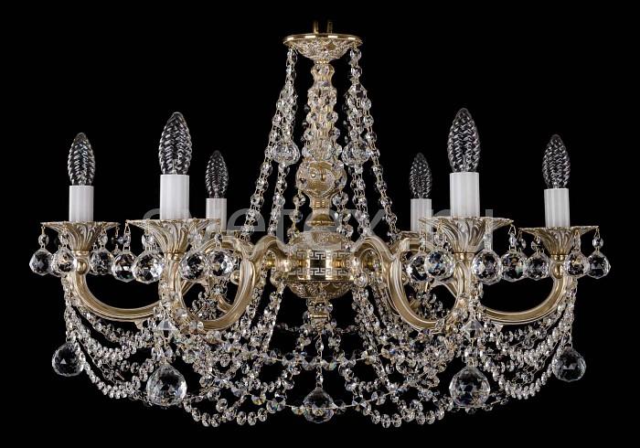Фото Подвесная люстра Bohemia Ivele Crystal 1702 1702/6/C/GW/Balls